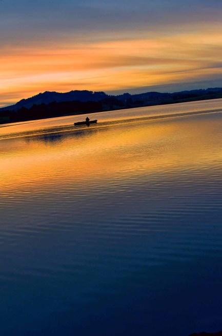 Sonnenuntergang in Hopfen am See 6