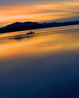 Sonnenuntergang Hopfen am See 6