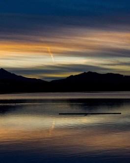 Sonnenuntergang Hopfen am See 4