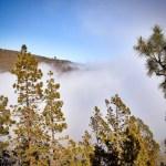 Der Teide im Nebel (Wolken) - Nationalpark 1