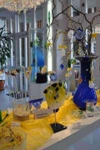 Frühlingsdeko im Glasmuseum