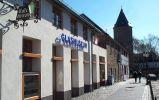 Glasmuseum Ansicht vom Prümer Wall mit Hexenturm