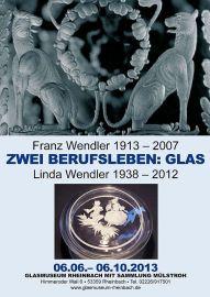 Plakat zur Wendler-Ausstellung