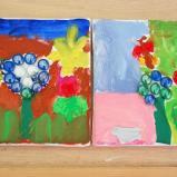 Blumen im Glasmuseum