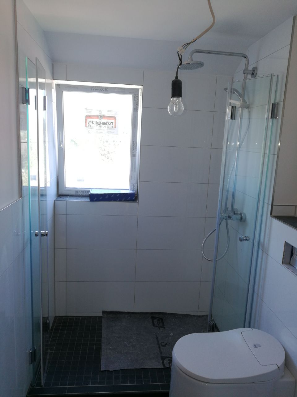 Maßanfertigung Glas Dusche
