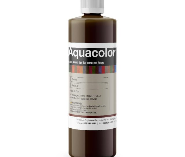 Aquacolor Water Based Stain For Concrete Surfaces Integral Topical
