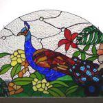 「孔雀のパネル」