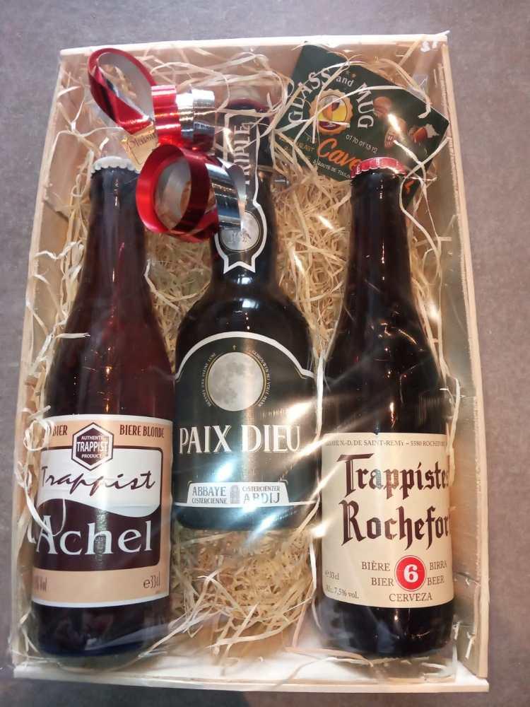 Coffret bières d'abbaye