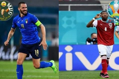 EURO 2020 : Italie - Autriche le samedi 26 juin 2021 sur M6 à 21H00