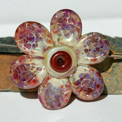 boro flower pendant