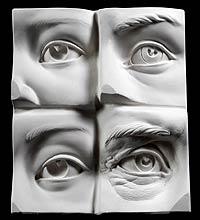 sculpting better eyes for casting glass