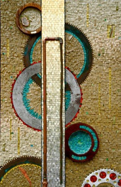 Amazing Mosaic Work by Rachel Sager – Glass Art