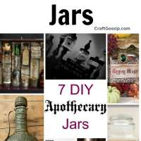 7 DIY Apothecary Jars