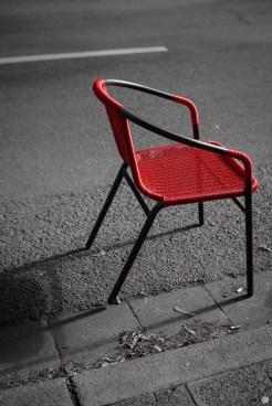 seat on the street