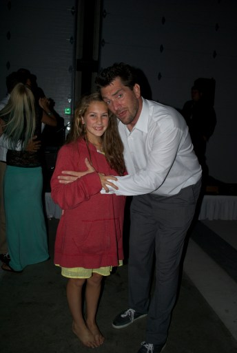 My 11 year-old daughter Kacee, and I.