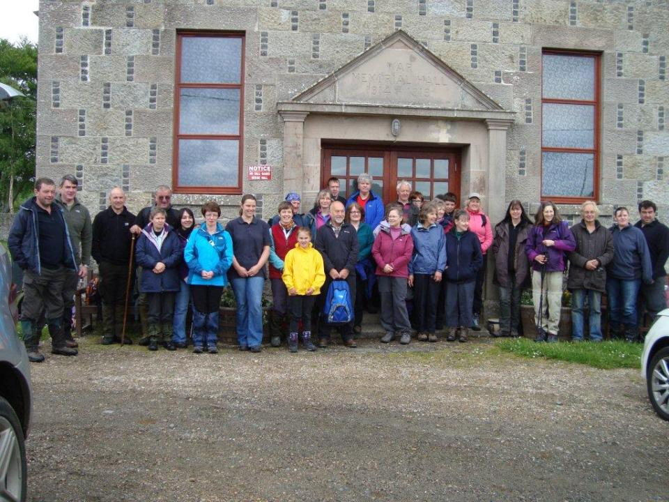 Glass Hall Sponsored Walk 2012