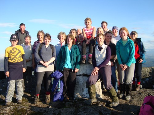 Climb to the Top -Ben Rinnes July 2012