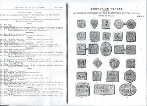 Communion Tokens