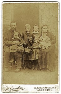 james & eliz gartly & five children