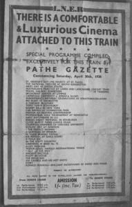 pathe gazette leaflet