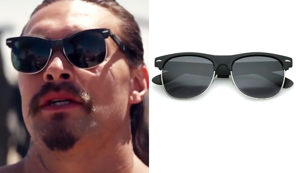 Miami Man Jason Momoa Sunglasses In The Bad Batch
