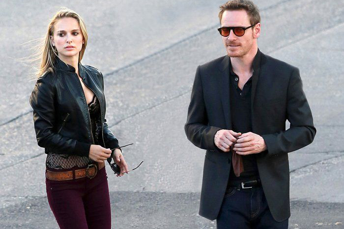 Michael Fassbender sunglasses in Song to Song