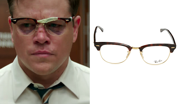 Gardner Lodge Matt Damon Eyeglasses In Suburbicon