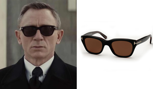 James Bond Sunglasses in Spectre in Funeral