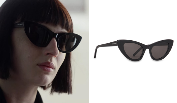Ludovica Storti Black Sunglasses in Baby