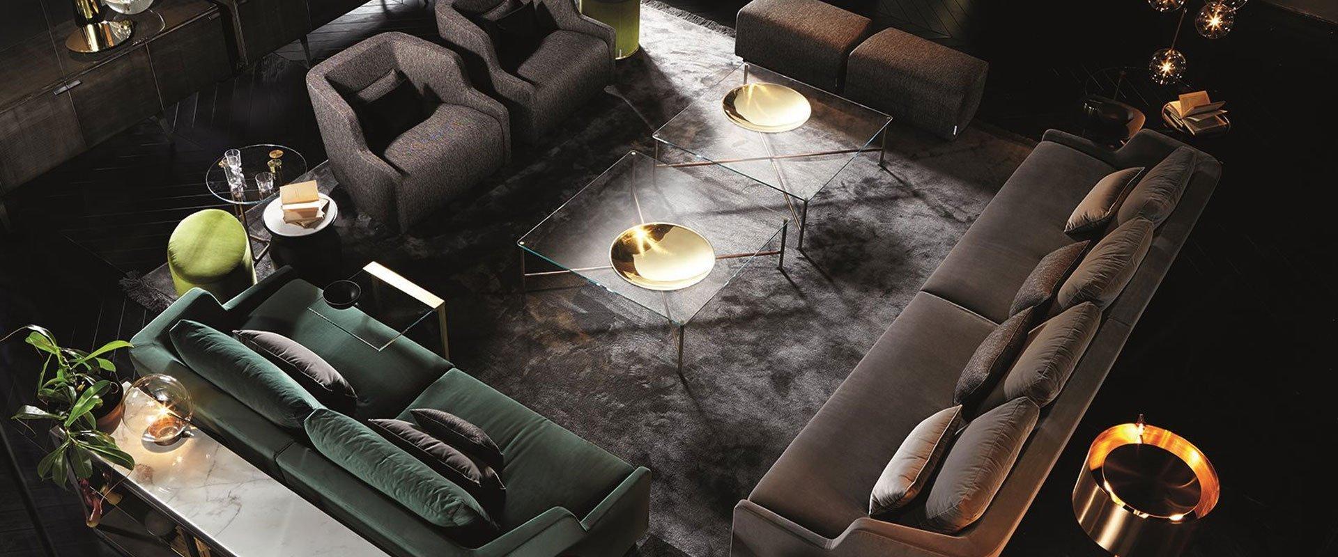 glass furniture - gallotti and radice