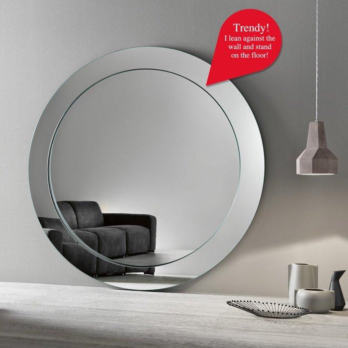 gerundio large circular mirror by tonelli