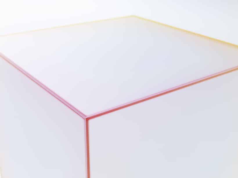 Soft Glass furniture at Milan