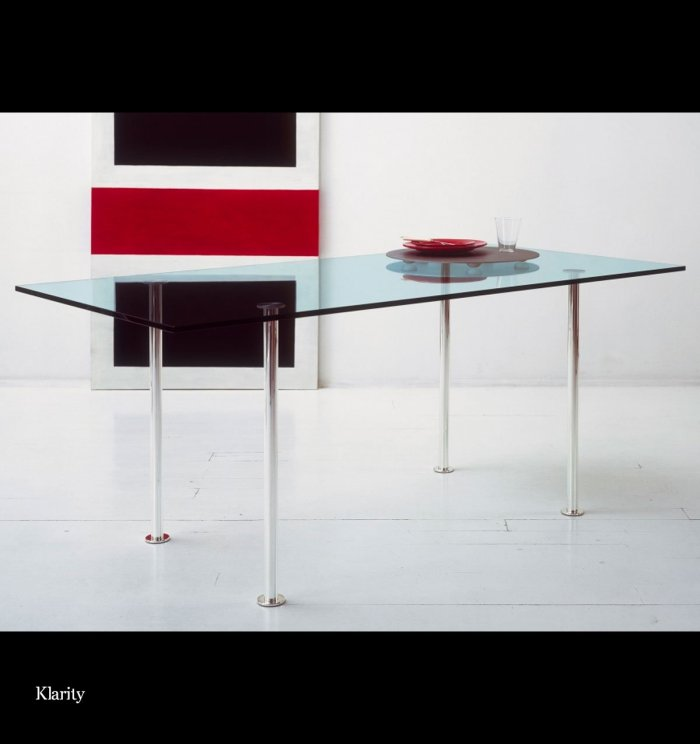 tonelli twiggy glass dining table
