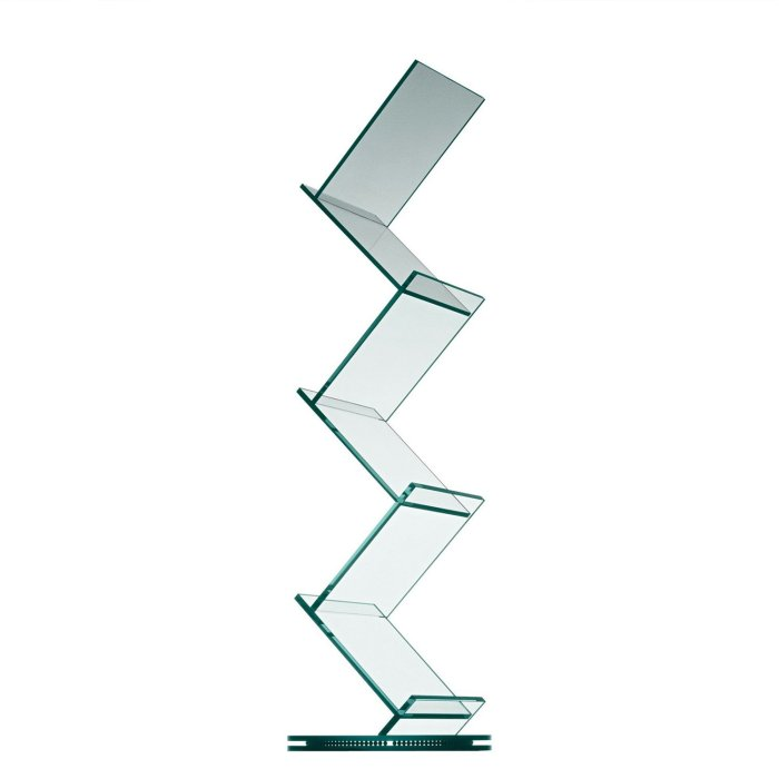albero glass display stand by tonelli