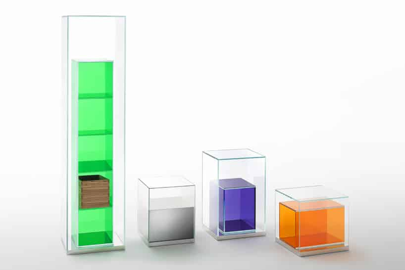 box in box by starck for glas italia colours
