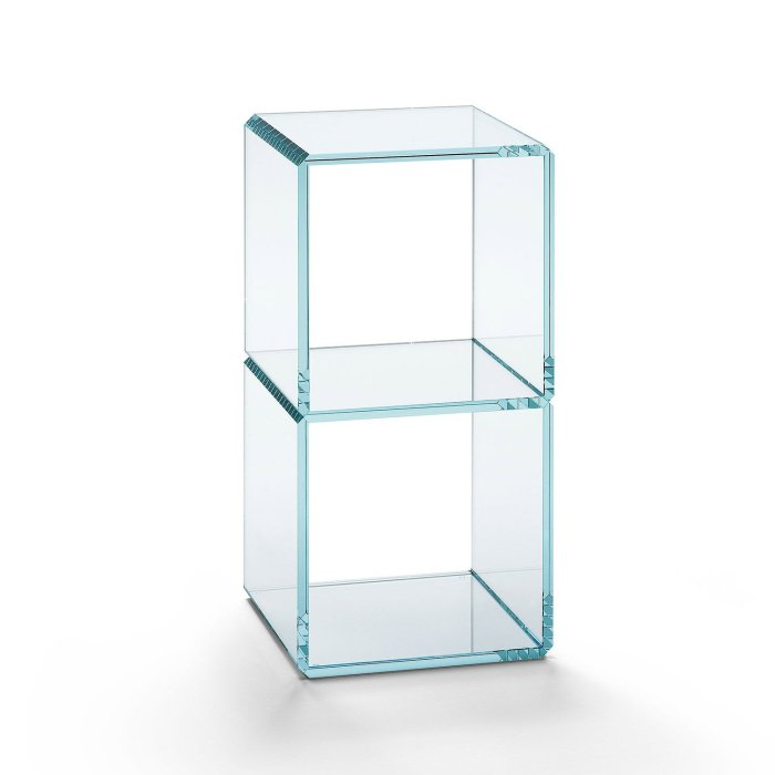 digit 8 glass table by tonelli