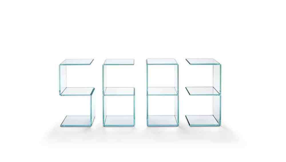 Digit by Tonelli glass furniture milan 2015