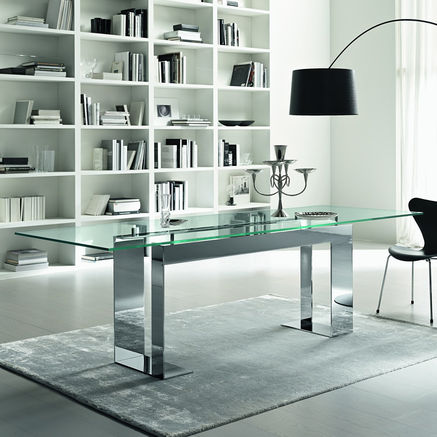 Tonelli Miles Dining Table - Klarity Glass Furniture