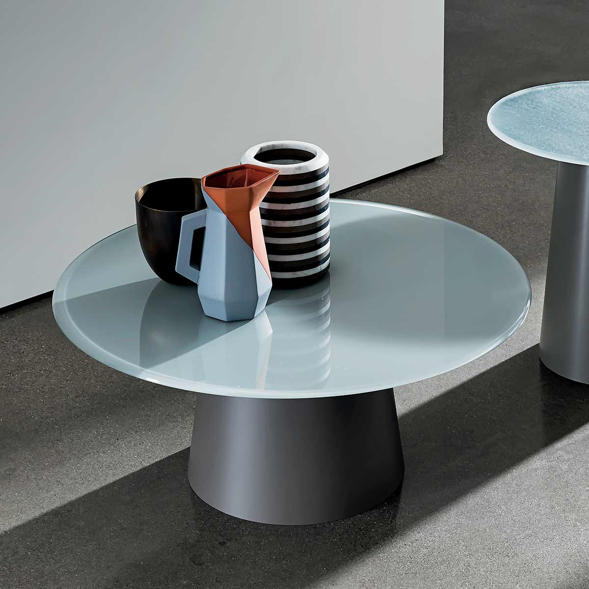 metal and glass coffee tables