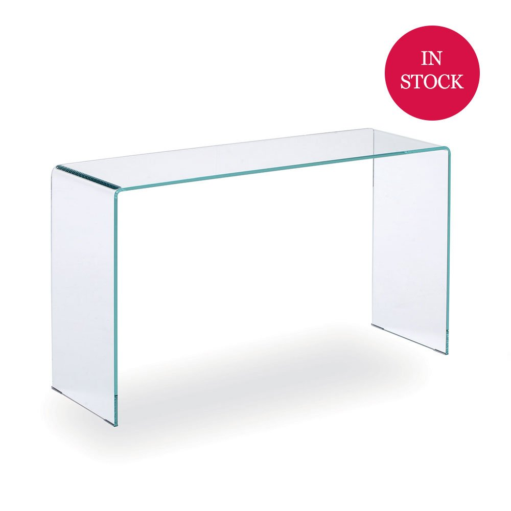 Glass Console Table