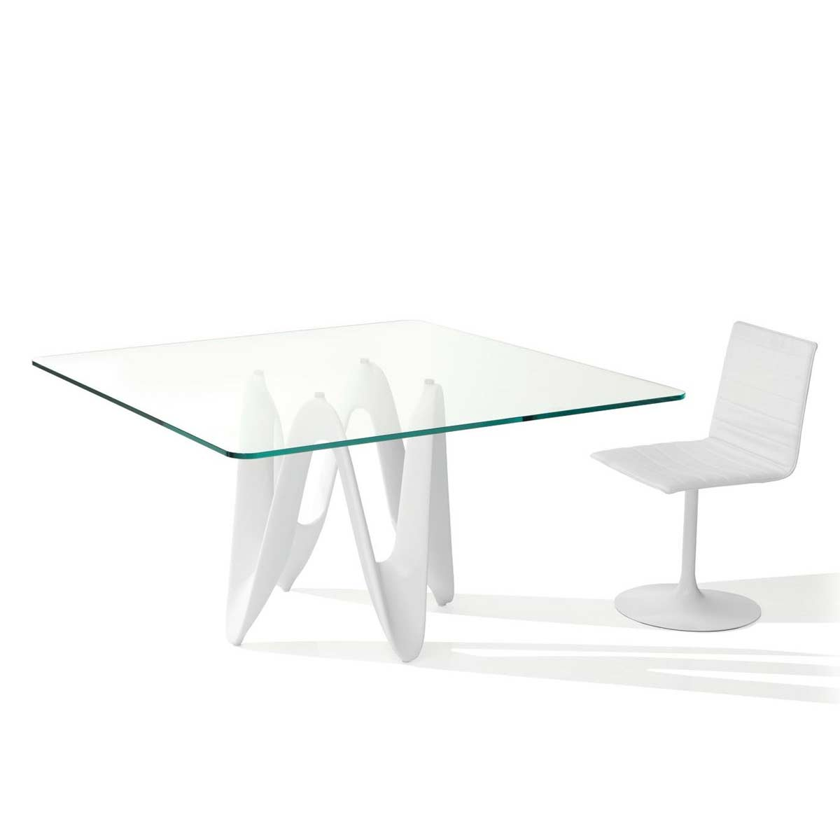 Klarity / Glass Furniture Shop / Glass Dining Tables / Wood U0026 Glass Dining  Tables / Lambda Rectangle U0026 Square Glass Dining Table