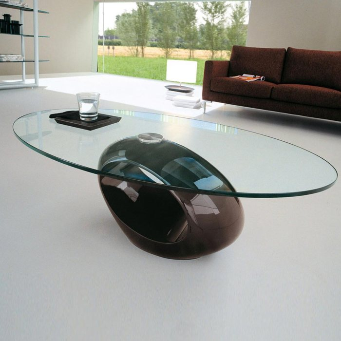 glass top coffee table from klarity glass