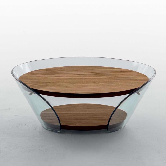 raffaello tonin casa curved glass table