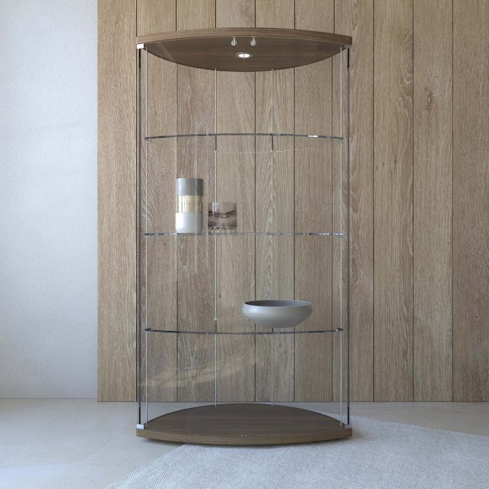 Arco modern display unit