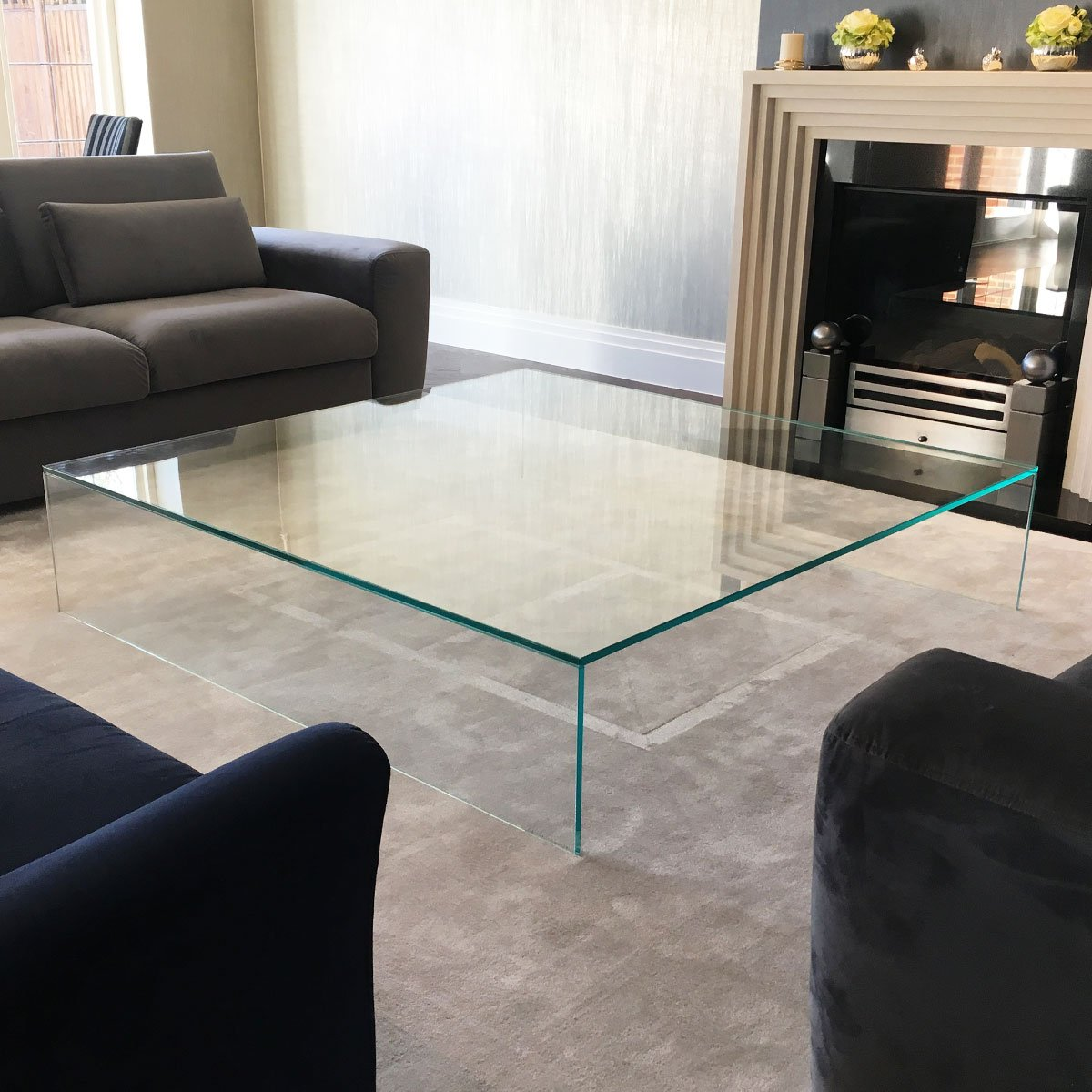 judd large glass coffee table