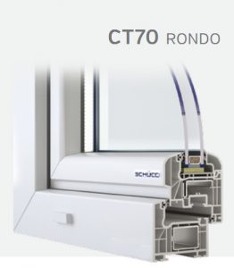SCHUCO CORONA RONDO CT 70 mm