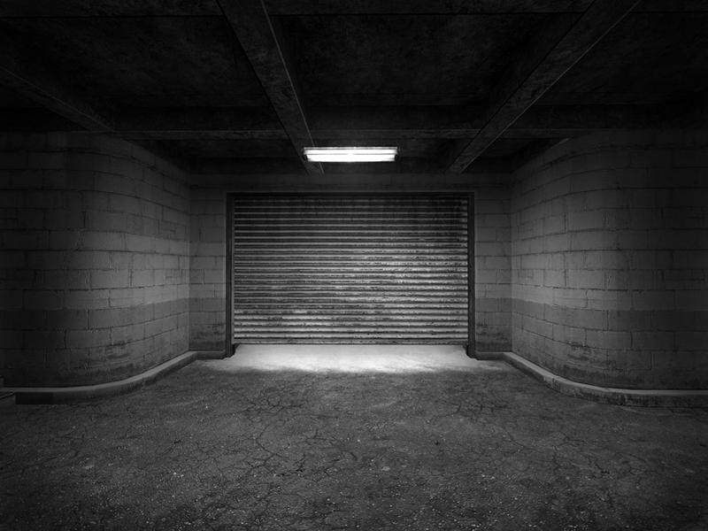 """Rush Garage, Screenshot on Paper, 30""""x40"""""""
