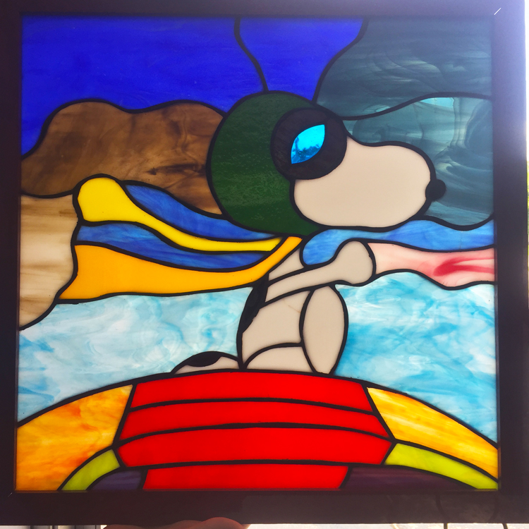Student Stained Glass from Glassie Ladies in West Columbia