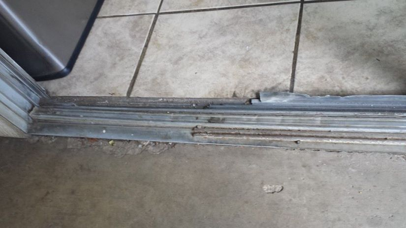 Sliding Door Track Repair Glass N Roll Sliding Doors