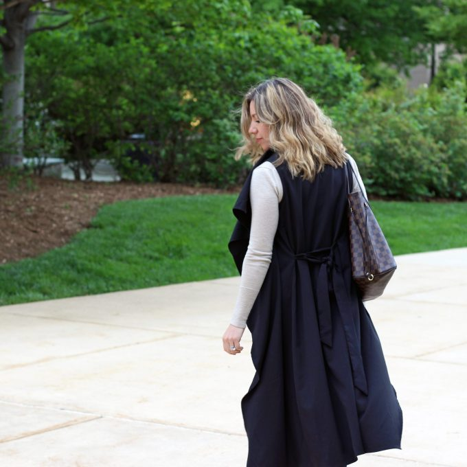 Sleeveless Trench | Glass of Glam